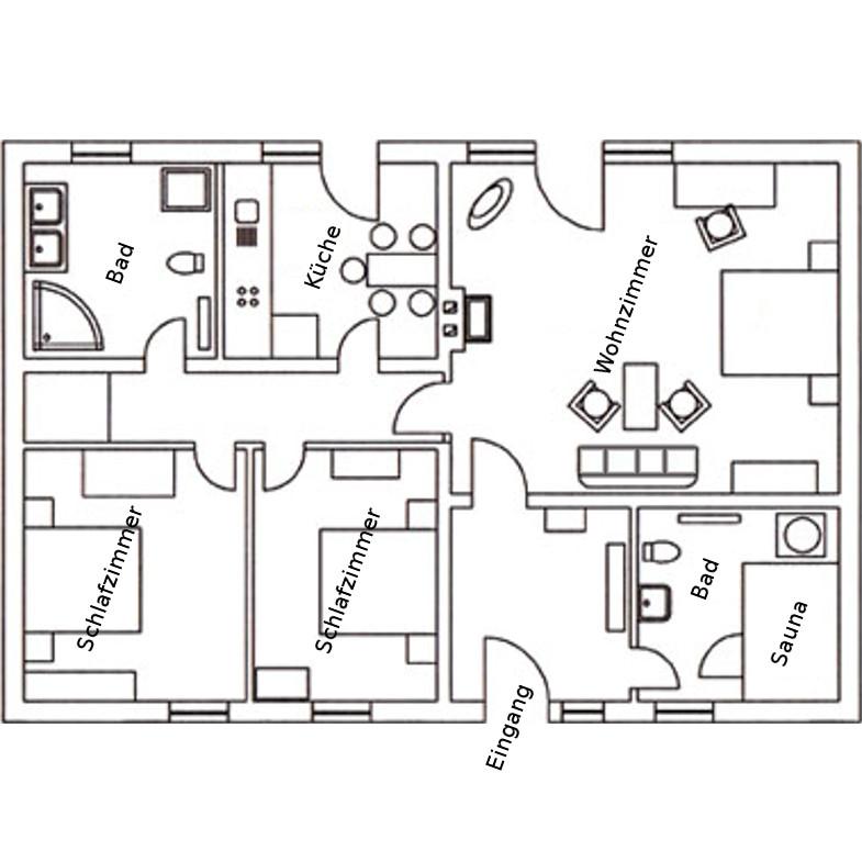 Haus Insellicht Grundriss